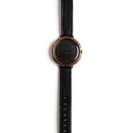 Assembly New York x Neji Commu - Leather Wristwatch - Black