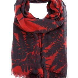STELLA MCCARTNEY  - Leaf printed scarf