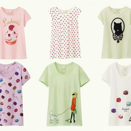 Laduree X Uniqlo - 2013 T-shirt