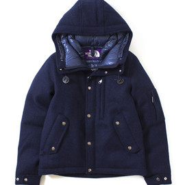 THE NORTH FACE PURPLE LABEL - Harris Tweed Short Down Parka