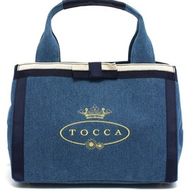 TOCCA - CANVAS LOGO BAG
