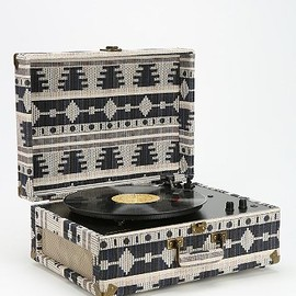 Crosley AV Room Geo Fabric Record Player