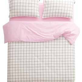 sleepybum - Athens Grid Links Baby Pink
