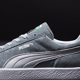 "PUMA  ""MADE IN JAPAN"" - SUEDE VTG MIJ SILVER"