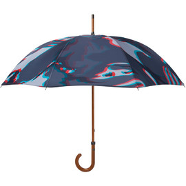 LONDON UNDERCOVER - 3D Camo/White Premium Double Layer Umbrella