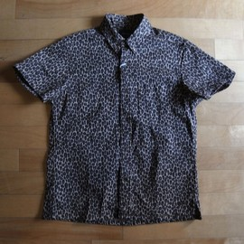 "superNova. - Button-Down Shirt ""Apple Leopard"""