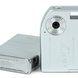 """Zippo"" Camera - Camera which fits into a Zippo Lighter, thank you James Bond 007"