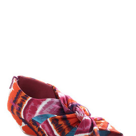 Modcloth - Early Arrival Wedge in Tie Dye