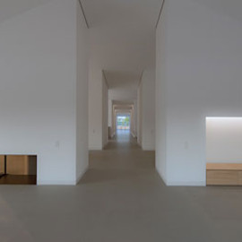 John Pawson - Lounge, Private house, Dolomites, Italy