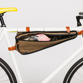 TheBeebeCompany - Leif weatherproof bicycle frame pocket