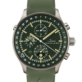 Sinn - Hunting Watch 3006 w/ Green Belt