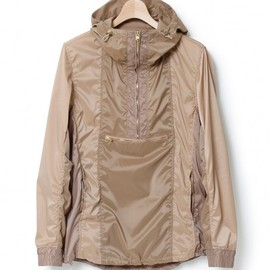 nonnative - STUDENT HOODED PULLOVER - POLY TAFFETA STRETCH