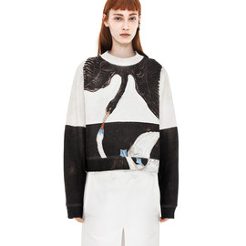 Acne - Bird H.K Black / White Swan