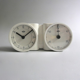 "BRAUN - ""KTC/KC"" Clock & Timer, White, Designed by Dietrich Lubs, 1988"