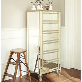 Pottery Barn - Park Mirrored Tower Dresser