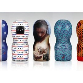 "TENGA - Tenga Collaborates With Streetwear Brands for the 2012 ""Respect Yourself"" Project"