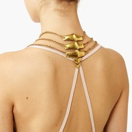 Nasty Gal - Backbone Necklace