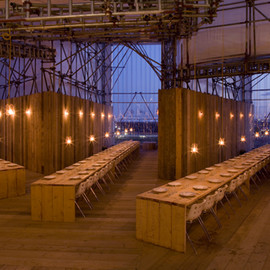 Carmody Groarke - Studio Dining East Restaurant, London