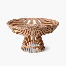 Piet Hein Eek - FAIR TRADE PALMWOOD BOWL ON FOOT