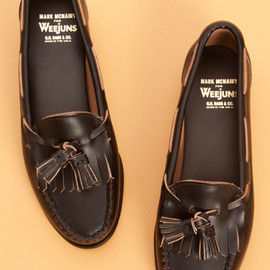 Mark McNairy for Bass Weejun - Brenda Weejuns In Black