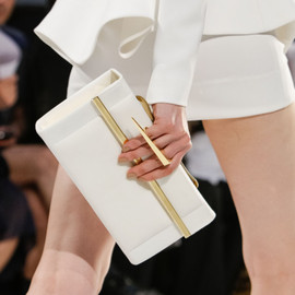 Alexandre Vauthier - White Leather Hand-bag