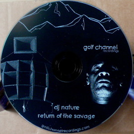 "DJ NATURE - ""RETURN OF THE SAVAGE"" CD GATEFOLD JACKET"