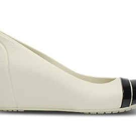 crocs - cap toe wedge w