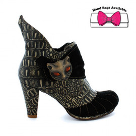IRREGULAR CHOICE - Miaow boot