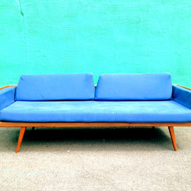at1stsight - Vintage Mid Century Modern Sofa