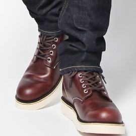 green label relaxing - 7H plane-toe work boots