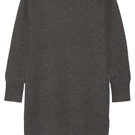 DKNY - Ribbed cashmere sweater dress