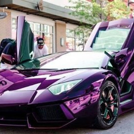 Lamborghini - purple.