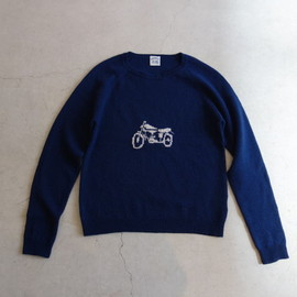 SUNSEA - Auto-bike sweater