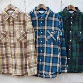 Five Brother - L/S Heavy Flannel Shirt