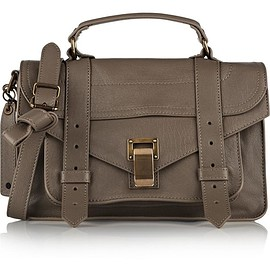 Proenza Schouler - The PS1 tiny leather satchel