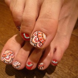 nail - Love these #nail #unhas #unha #nails #unhasdecoradas #nailart #pedicure #cute