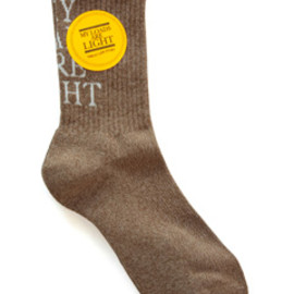 MY LOADS ARE LIGHT - MLAL Sox (brown)