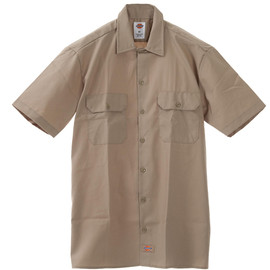 Dickies - 1574 Short Sleeve Work Shirts (Khaki)