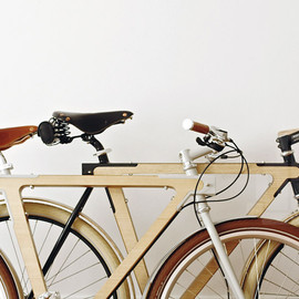 BSG Bikes - WOOD.b handmade wooden bike