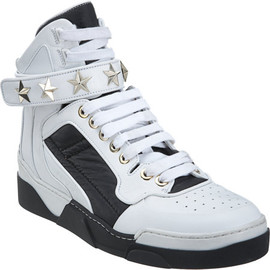 Givenchy - Studded Strap High Top Sneakers