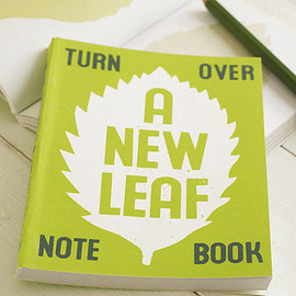 SUKIE - A New Leaf Notebook