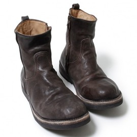 nonnative - VOYAGER SIDE ZIP UP BOOTS ITALIAN COW LEATHER VW