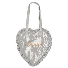 Katie - FRILL heart tote