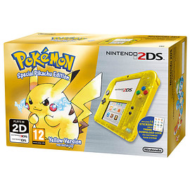 Nintendo - Nintendo 2DS Special Edition: Pokémon Yellow Version