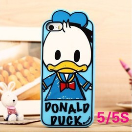 CASEMODA - New Cute Chic Limited Edition Disney Graffiti Donald Duck Silicon iPhone Case Cover