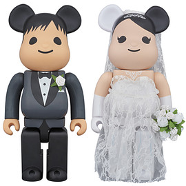 MEDICOM TOY - BE@RBRICK グリーティング 結婚 PLUS 400%