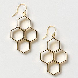 Anthropologie - Honeycomb Hive Drops