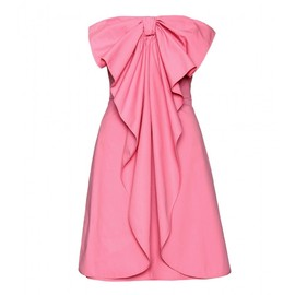 VALENTINO - STRAPLESS BOW DRESS