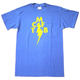 Mark Mcnairy - VINTAGE LIGHTNING BOLT TCMFB TEE [BLUE]