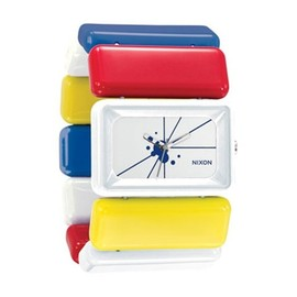 [Nixon] - NIXON VEGA WH / RD / YE / BL Vega White / Red / Yellow / Blue